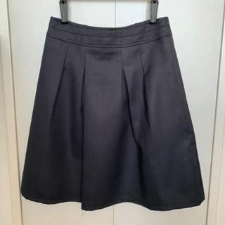 アールユー(RU)のRU 台形スカート ネイビー  (ミニスカート)