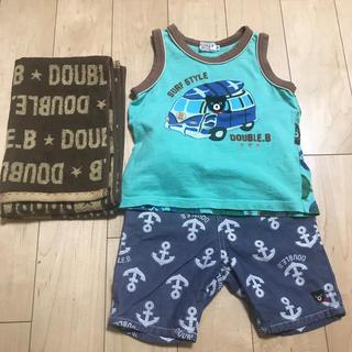 ダブルビー(DOUBLE.B)のダブルB 3点セット(Tシャツ/カットソー)