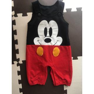 ディズニー(Disney)のディズニー ミッキーのオーバーオール/パンツ(パンツ/スパッツ)