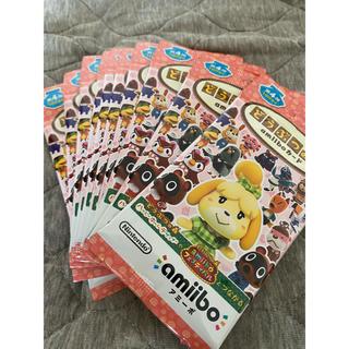 任天堂 - どうぶつの森 amiiboカード 第4弾 10パック