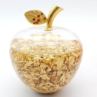 黄金のアップル リンゴ 置物 風水(置物)