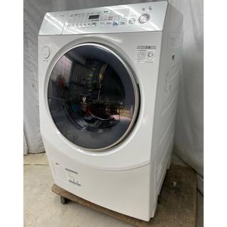 SHARP - シャープ ななめ型ドラム式洗濯乾燥機10kg ES-V530-SR
