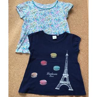 ユニクロ(UNIQLO)のUNIQLO Tシャツ 110  2枚セット(Tシャツ/カットソー)