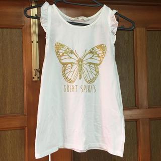 エイチアンドエム(H&M)のノースリーブシャツ(Tシャツ/カットソー)