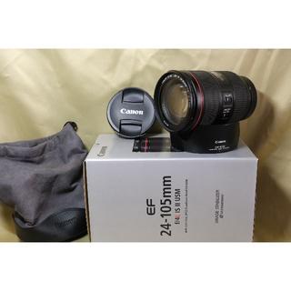 キヤノン(Canon)の美品 CANON キャノン EF24-105mm F4L IS II USM(レンズ(ズーム))