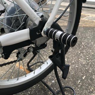 自転車 ステップ 2本セット ハブステップ 7xφ2.4cm ギアの保護(パーツ)