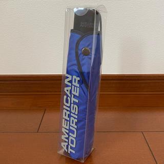 アメリカンツーリスター(American Touristor)の新品未使用 AMERICAN TOURISTER ノベルティ 折りたたみ傘(ノベルティグッズ)