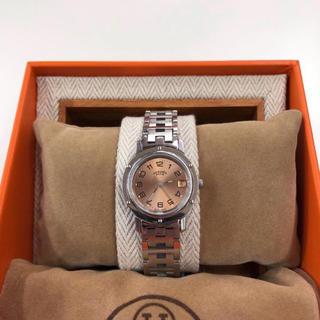 Hermes - HERMES CL4.210 クリッパー 24mm デイト 腕時計