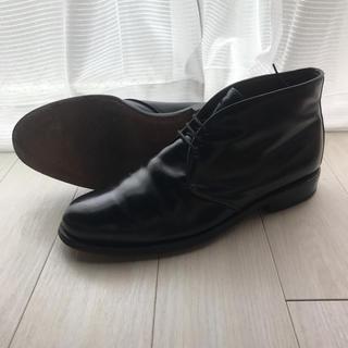 アレンエドモンズ(Allen Edmonds)のアレンエドモンズ コードバン/チャッカーブーツ(ブラック)(ブーツ)
