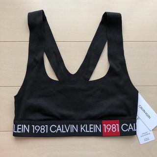 Calvin Klein - カルバンクライン スポーツブラ XS S ブラ ブラック ハワイ スポーツウェア