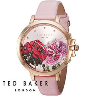 TED BAKER - 新品 TED BAKER 花柄腕時計 ピンク ウォッチ テッドベーカー