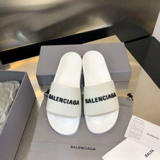 Balenciaga - サンダル メンズレディース 白(黒字)