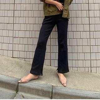シールームリン(SeaRoomlynn)の新品タグ付き ベーシック RIB ストレートパンツ(カジュアルパンツ)