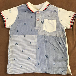 バックナンバー(BACK NUMBER)の120 バックナンバーキッズ ポロシャツ (Tシャツ/カットソー)