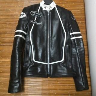 バンソン(VANSON)のVanson black top motorcycle BTMC バンソン (ライダースジャケット)