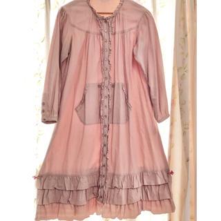 PINK HOUSE - ピンクハウス🎀裾のフリルが可愛いワンピース