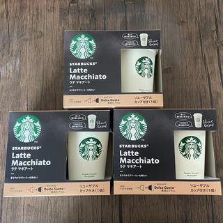 Starbucks Coffee - スターバックス ドルチェグスト互換カプセル ラテマキアート 9杯分-カップ3個付