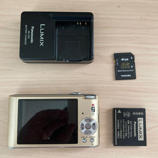 パナソニック(Panasonic)の【動作確認済】パナソニック デジカメ FX60(コンパクトデジタルカメラ)