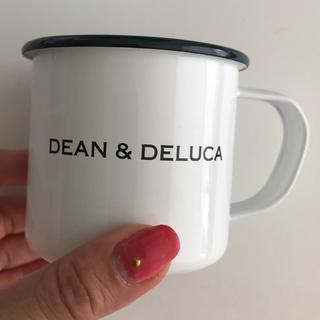 ディーンアンドデルーカ(DEAN & DELUCA)のDEAN & DELUCA ホーローマグカップ ホワイト 180cc(グラス/カップ)