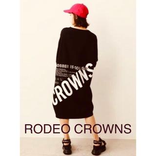RODEO CROWNS - rodeo crowns  ロデオクラウンズ Tシャツ ワンピース ロゴ