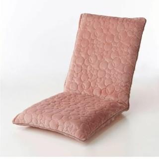 ベルメゾン(ベルメゾン)の座椅子カバー(大)ピンク  / ミッキーモチーフ(座椅子)