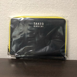 タケオキクチ(TAKEO KIKUCHI)のmono master 6月号 付録 セブン限定(長財布)