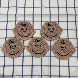 チャーリーブラウンコースター 5枚セット(キッチン小物)
