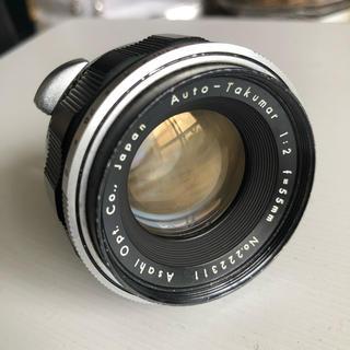 ペンタックス(PENTAX)のオートタクマー 55mm f2.0 美品(レンズ(単焦点))