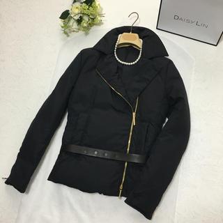 グッチ(Gucci)の美品 グッチ GUCCI 最高級ダウン ベルト付き コート ジャケット(ダウンジャケット)