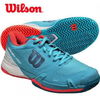 ウィルソン(wilson)のウィルソン レディーステニスシューズ オールコートラッシュプロ 23.5㎝ 新品(シューズ)