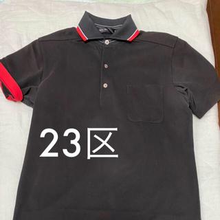 ニジュウサンク(23区)の23区 HOMME 半袖 ポロシャツ サイズ50 オンワード樫山(ポロシャツ)