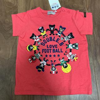 ダブルビー(DOUBLE.B)の《新品》ダブルビー Tシャツ  80(Tシャツ)