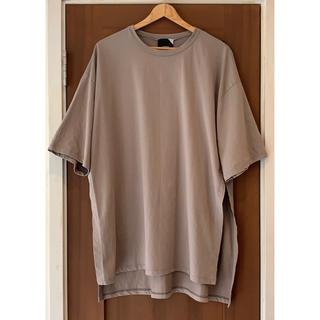 DEUXIEME CLASSE - 美品!ATONエイトン オーバーサイズTシャツ カットソー グレージュ 02♪