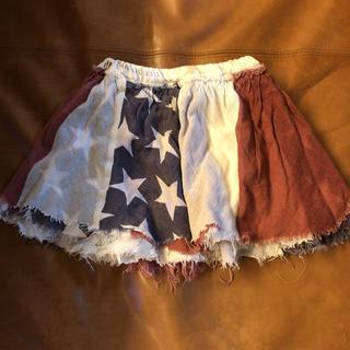 GO TO HOLLYWOOD - ゴートゥーハリウッド星条旗柄スカート100