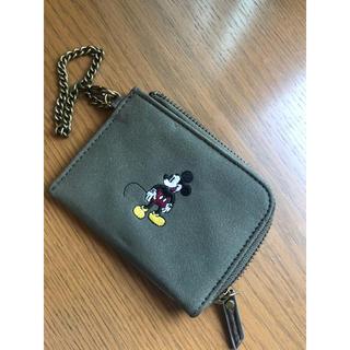 ディズニー(Disney)のMickeyパスケース(名刺入れ/定期入れ)