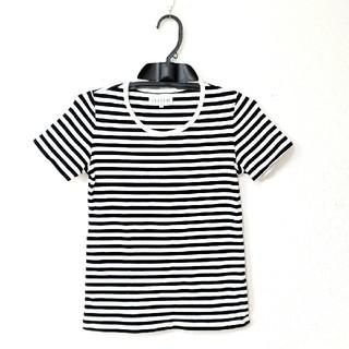 シマムラ(しまむら)のボーダーTシャツ  M(Tシャツ(半袖/袖なし))