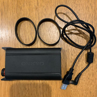 オンキヨー(ONKYO)のONKYO DAC-HA200 ポータブルヘッドホンアンプ(アンプ)