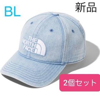 ザノースフェイス(THE NORTH FACE)のNORTH FACE TNF logo cap キャップ ブリーチデニム BL(キャップ)