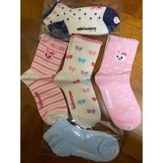 mikihouse - 靴下 ミキハウス  女の子 mikihouse 17-19cm 5足