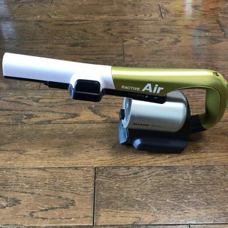 シャープ(SHARP)のSHARP(シャープ) EC-A1R(ラクティブエア)本体のみ  ジャンク品(掃除機)