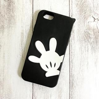 ディズニー(Disney)のディズニー iPhone6 / 6s ケース ミッキー 手 シリコンケース(iPhoneケース)