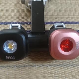 ノグ knog blinder mini dot 前後セット ロード ピスト(パーツ)