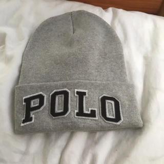 ラルフローレン(Ralph Lauren)のポロ  ニット帽(ニット帽/ビーニー)
