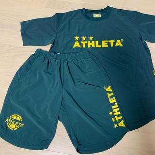 ATHLETA - 【美品】 ATHLETA Tシャツ ハーフパンツ 上下SET