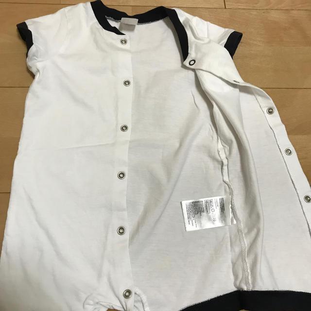 H&M(エイチアンドエム)のH&M ロンパース 3枚セット キッズ/ベビー/マタニティのベビー服(~85cm)(ロンパース)の商品写真