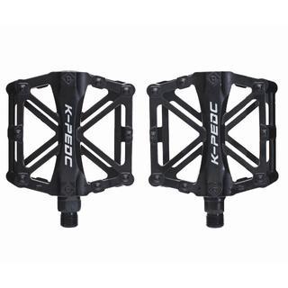 新品 アルミペダル 左右セット ブラック黒 自転車 HAMMARS 【バルク品】(パーツ)