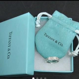 Tiffany & Co. - 正規品*美品*ティファニー アトラスリング*指輪☆保存袋と保存箱付き
