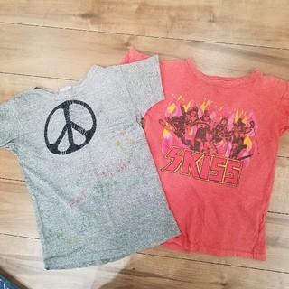 デニムダンガリー(DENIM DUNGAREE)のDD.GTHのTシャツ二枚セット(Tシャツ/カットソー)