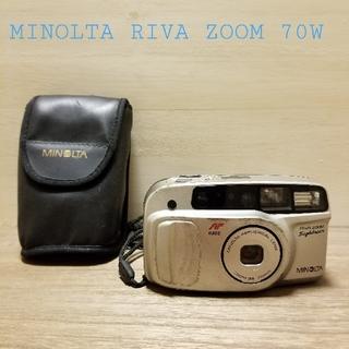 コニカミノルタ(KONICA MINOLTA)の【動作良好】MINOLTA RIVA ZOOM 70W フィルムカメラ(フィルムカメラ)