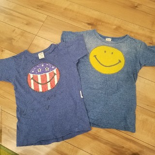 デニムダンガリー(DENIM DUNGAREE)のDDスマイルTシャツ 二枚セット(Tシャツ/カットソー)